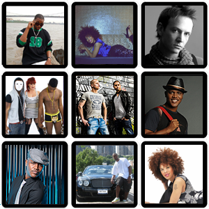 Gallery with performers that can be booked at Hotartists.nl